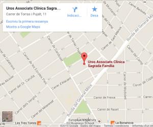 mapa clinica sagrada familia